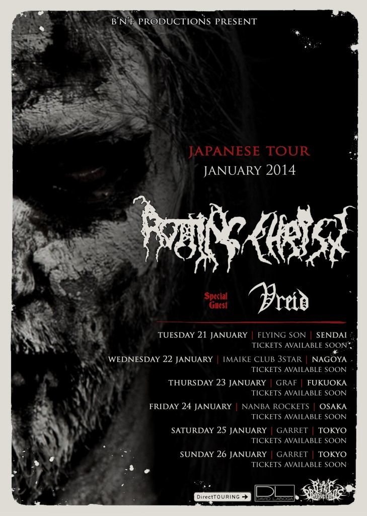 Japanese tour poster