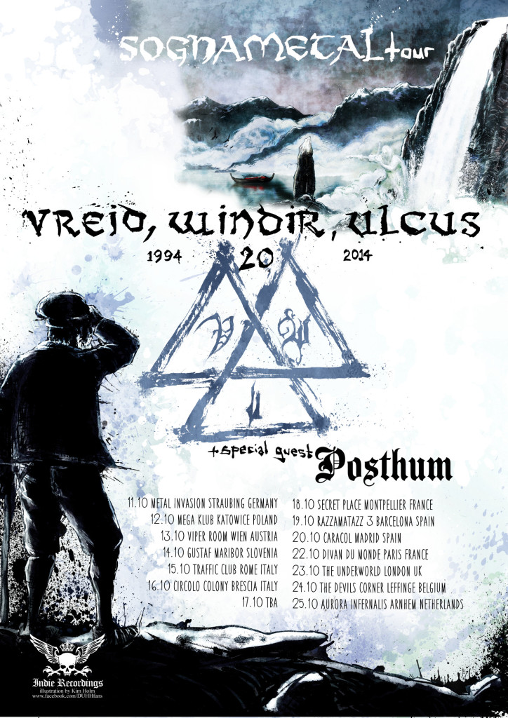 European tour october 2014 - poster
